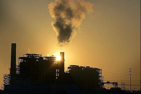 Les gaz à effet de serre culminent en 2010
