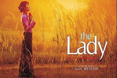 L'affiche du film The Lady de Luce Besson.