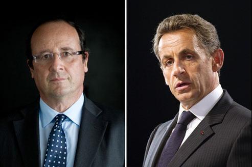 Au deuxième tour, l'écart reste de 16 points entre François Hollande (58%) et Nicolas Sarkozy (42%). (Crédits photo: AFP)