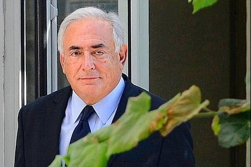 Dominique Strauss-Kahn en septembre dernier à Paris.