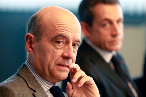 Pour Alain Juppé, Nicolas Sarkozy «a été très convaincant sur l'analyse de la crise». (Crédits photo : Bernard Patrick/ABACA)