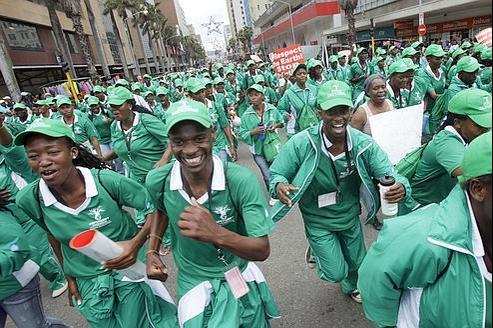 Des milliers de manifestants à Durban pour le climat