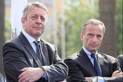 Nommé par Henri Proglio (à droite), Antoine Frérot ne pourra s'imposer à la tête de Veolia que s'il parvient à imprimer sa marque.