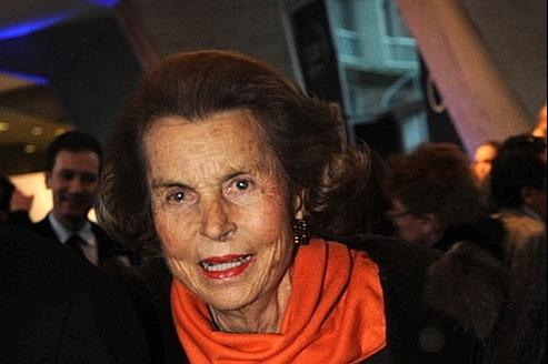Liliane Bettencourt, en mars 2011.
