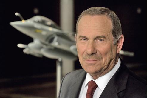 Charles Edelstenne, PDG de Dassault Aviation.