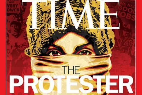 La couverture du Time sur la «personne de l'année» 2011.