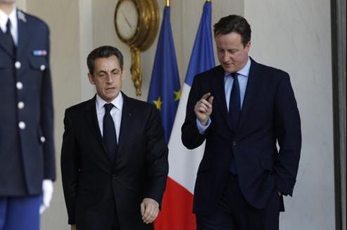 Pour la presse britannique, les propos de Nicolas Sarkozy à l'encontre de David Cameron ne sont qu'un signe de plus de la mauvaise entente actuelle entre les deux pays.