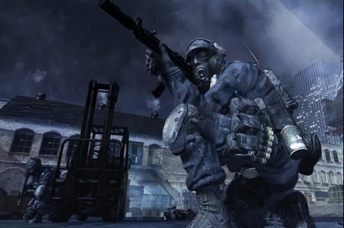 Héros du jeu de guerre Xal of Duty, Modern Warfare 3. Crédits photo: DR