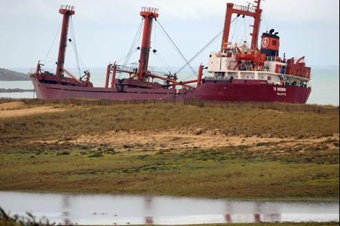Le TK Bremen risque de faire partie du paysage breton pour encore quelques semaines, voire quelques mois.