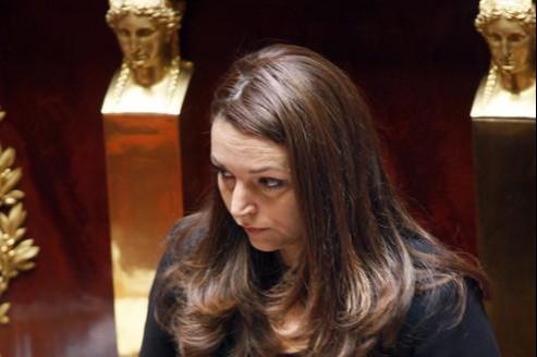 La députée UMP Valérie Boyer (ici en 2008, à l'Assemblée) est à l'initiative de la proposition de loi.