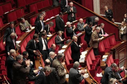 Une demi-douzaine de députés seulement ont voté contre le texte.