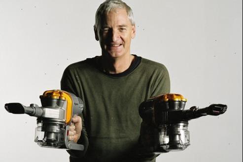 James Dyson a persévéré pendant douze ans pour faire de son aspirateur sans sac un succès commercial.