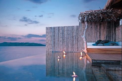 Song Saa Island Resort, sur une île privée du Cambodge Crédit : Groupe Kuoni