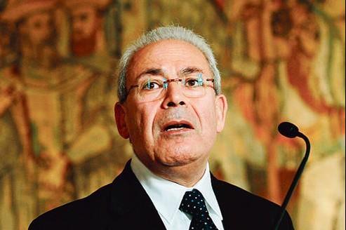 Burhan Ghalioun, président du Conseil national syrien, principal mouvement de l'opposition.