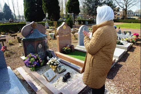 Le carré musulman du cimetière de Lille-Sud (photo archive).