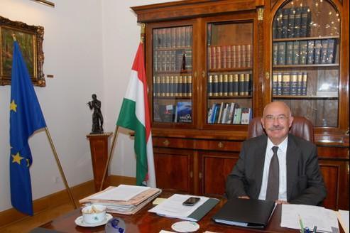 Janos Martonyi, ministre hongrois des Affaires étrangères depuis 2010.