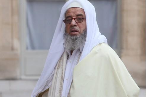 Mohammed Hammami le 23 septembre 2010. Ce jour-là, l'imam faisait partie des représentants du culte musulman reçus à l'Élysée.