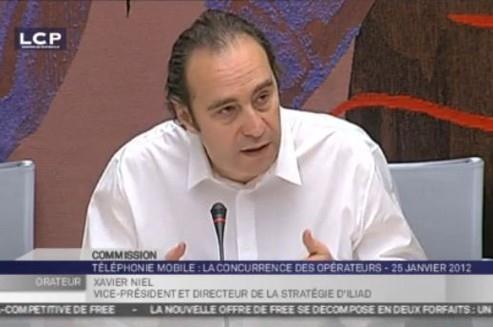 Xavier Niel auditionné à l'Assemblée Nationale / Crédits photos : capture d'écran LCP