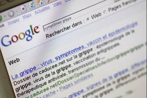 Google veut notamment améliorer les suggestions sur son moteur de recherche. Crédit : François Bouchon/Le Figaro