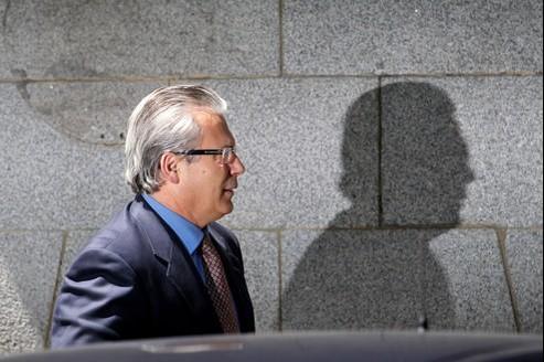 Garzon (ici en mai 2010 à Madrid) risque une peine d'inhabilité de 20 ans.
