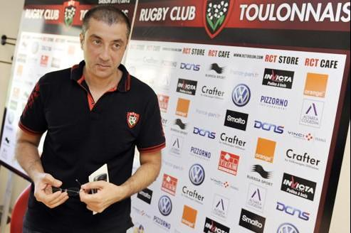 Mourad Boudjellal, le président du RC Toulon.