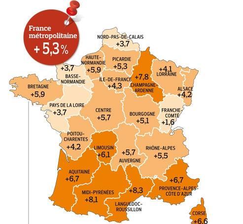 Chômage : des disparités entre les régions françaises
