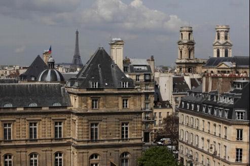 Immeubles à Paris - François BOUCHON / Le Figaro