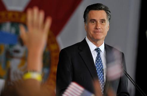 Les sondages à la sortie des urnes indiquent une percée notoire de Romney auprès du mouvement Tea Party, dont il a remporté 40% des voix.