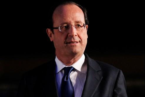 François Hollande, candidat PS à la présidentielle de 2012.