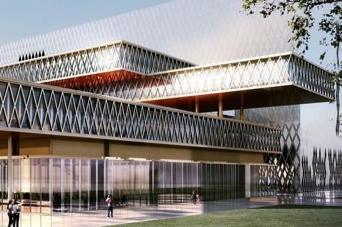 Le site de Pierrefitte, dont la facture tutoie les 244millions d'euros a été imaginé par l'architecte italien Massimiliano Fuksas.