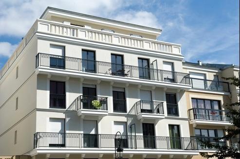 La résidence Quai 92, à Puteaux, qui a été livrée en octobre 2011, compte 36 HLM sur 94 logements.
