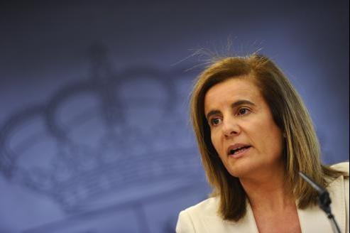 Fatima Banez, ministre espagnole de l'Emploi.