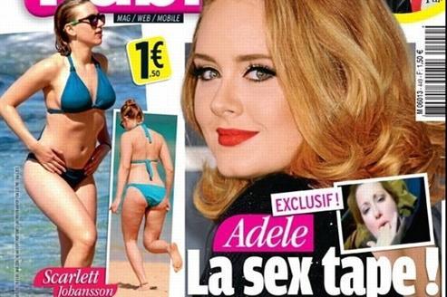La couverture du magazine Public le 17 février 2012.
