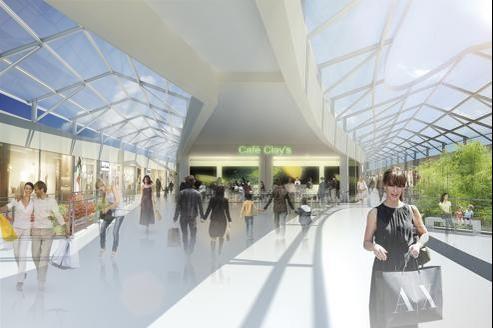 Ce nouvel»outlet» de 24.000 m2 accueillera 140 boutiques monomarques et 4 restaurants.
