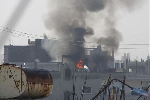 Les bombardements ont repris mercredi matin sur la ville de Homs.