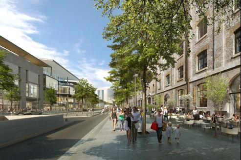 Le montant du projet des Docks de Marseille s'élève à 50 millions d'euros. Crédit : Golem Images pour Foruminvest