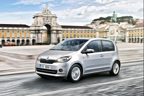 Skoda Citigo: la dernière du trio Volkswagen