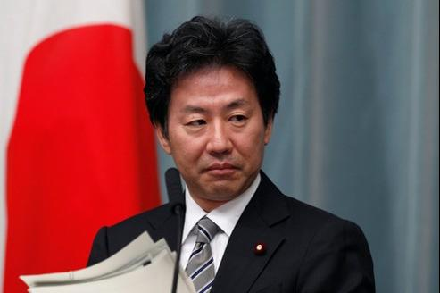 Jun Azumi, ministre des Finances du Japon