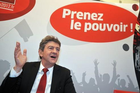 Jean-Luc Mélenchon le 14 janvier dernier à Saint-Herblain, près de Nantes.
