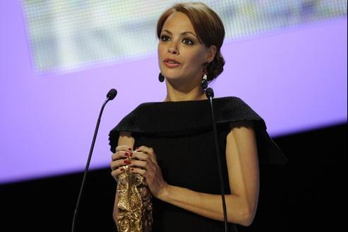 Bénrénice Bejo, césar de la meilleure actrice 2012 avec The Artist
