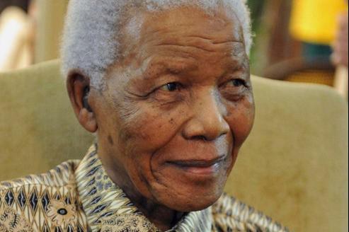 Nelson Mandela, ici en mai 2011 à Johannesbourg.