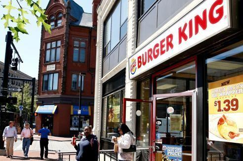 Un établissement de Burger King, à Boston (États-Unis).