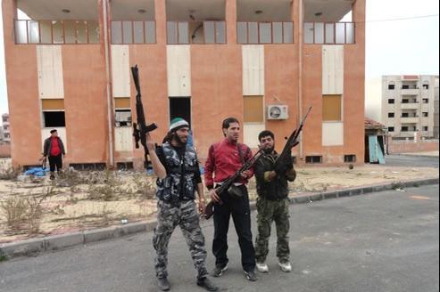 Des membres de l'Armée syrienne libre à Homs, le 29 février