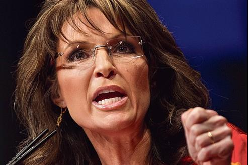 Sarah Palin, en février, à Washington.