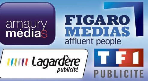 Une nouvelle plate-forme commercialisera les formats publicitaires disponibles sur les sites des quatre groupes.