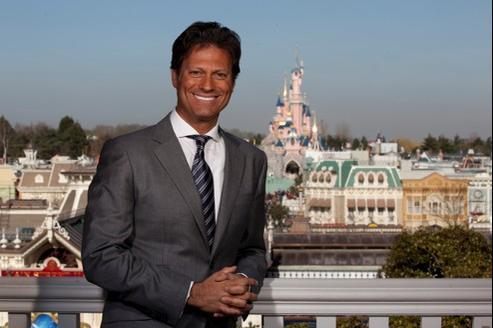 Philippe Gas, PDG d'Euro Disney.