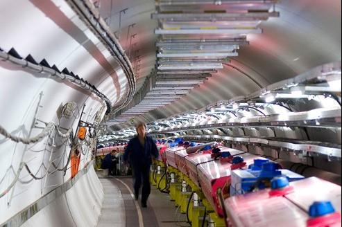 Le générateur du faisceau de neutrinos genévois.