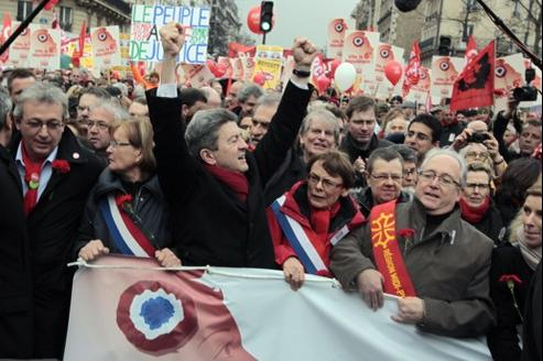 Le 18 mars, à Paris.