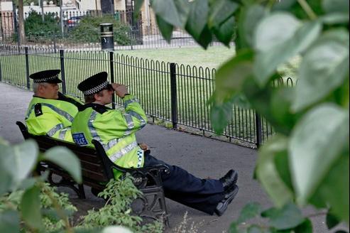 Presque un quart des policiers londoniens sont considérés comme obèses.
