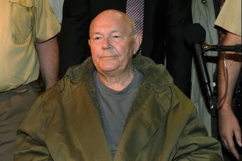 John Demjanjuk après le verdict de son procès le 12 mai 2011.